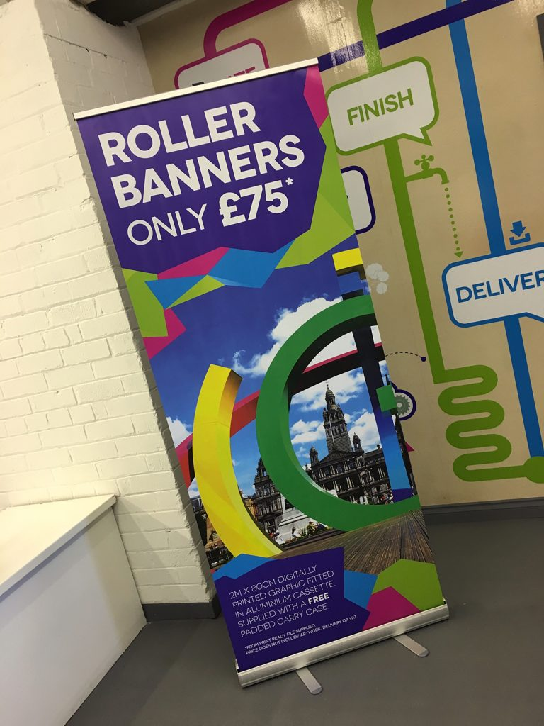 Roller banner printing available in glasgow push print roller banner printing available in glasgow reheart Gallery